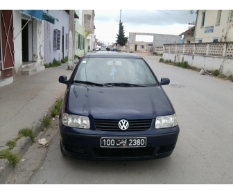 voiture voiture volkswagen polo 4 occasion tunisie. Black Bedroom Furniture Sets. Home Design Ideas