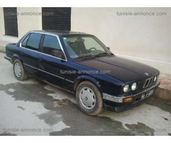 voiture bmw e30 ancien occasion tunisie. Black Bedroom Furniture Sets. Home Design Ideas