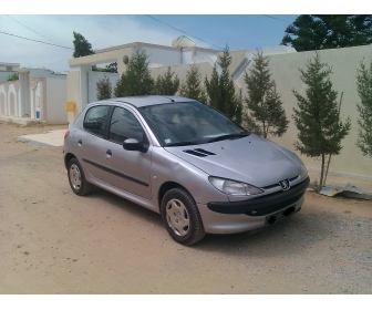 voiture vente peugeot 206 sfax tunisie. Black Bedroom Furniture Sets. Home Design Ideas