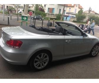 voiture bmw serie 1 e88 cabriolet 120i 170 confort occasion tunisie. Black Bedroom Furniture Sets. Home Design Ideas