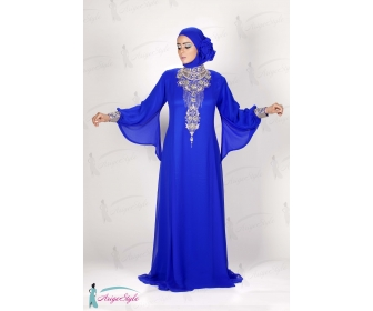 Robe soiree 2013 pour femme voilee