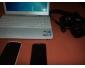 pc portable + nikon D40 + portable samsung galaxy ace + portable acer
