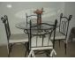 Table en fer forgé à vendre