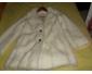 Manteau fourrure blanc à vendre
