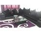 salon très chic noir 10 place à vendre