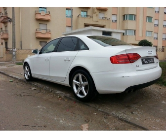 voiture voiture occasion audi a4 1 8 tfsi vendre tunisie. Black Bedroom Furniture Sets. Home Design Ideas