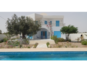 Maison avec piscine vendre zarzis for Prix piscine 12x6