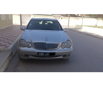 voiture voiture occasion mercedes c200 cdi elegance vendre tunisie. Black Bedroom Furniture Sets. Home Design Ideas