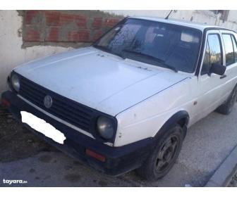 voiture voiture occasion golf ii essence vendre tunisie. Black Bedroom Furniture Sets. Home Design Ideas