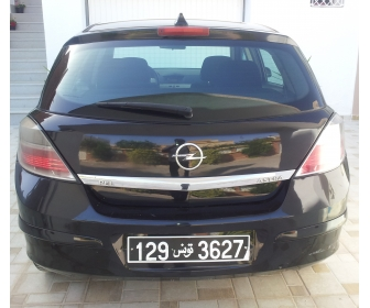 voiture voiture occasion opel astra h tunisie. Black Bedroom Furniture Sets. Home Design Ideas