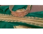 Caftan vert avec ceinture fait au Maroc