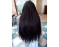 تركيب الشعر الطبيعي الدائم الطويل الاكستينشان