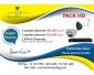 Kit deux cameras de surveillance «Ideal Vision» HD 720 P