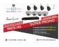 Kit de huit  cameras de surveillance « Ideal Vision » HD  720 P