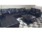 A Vendre Salon noir Chic + table basse en très bon état et très peu ut Tunisie