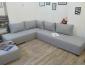 Salon d`angle convertible 2 en 1 (canapé-lit)