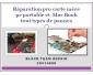 Réparation pro carte mère pc portable et mac book